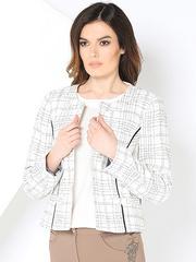 WJ3402V-1 пиджак женский, белый