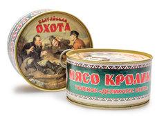 Тушеное мясо кролика МК Балтийский, 325г