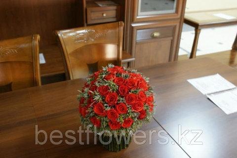 Букет бушель Ø26 H24 красный
