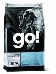 Корм для щенков и собак, GO! Natural holistic, Sensitivity + Shine LID Pollock Dog Recipe, Grain Free, Potato Free, беззерновой, с минтаем для чувствительного пищеварения