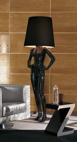 floor lamp  VICTORIA by BIZZOTTO ( black )