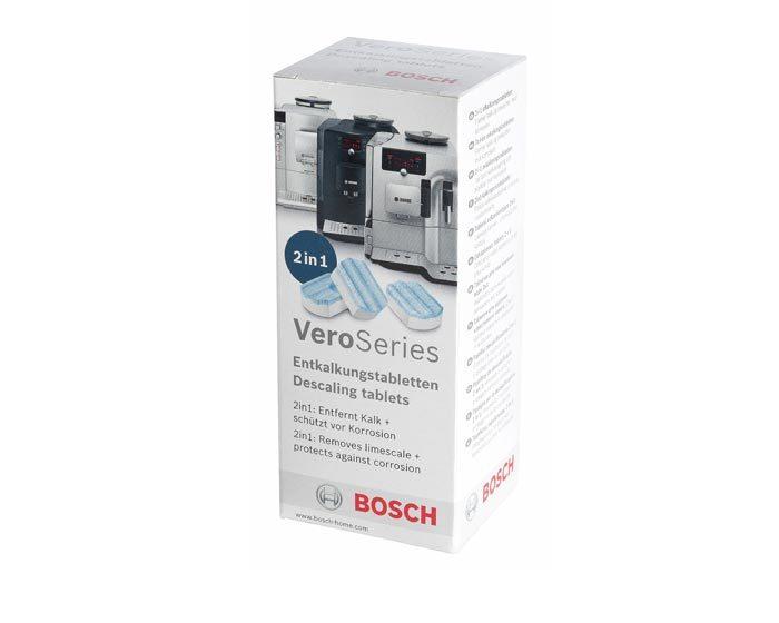 Таблетки для удаления накипи в кофемашинах Bosch TCZ8002, (3 шт.)