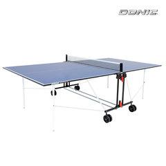 Теннисный стол DONIC INDOOR ROLLER SUN BLUE 16mm , с сеткой