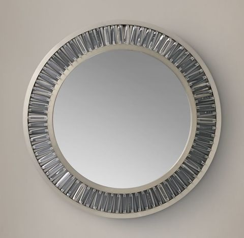 Lombard Prism Round Mirror