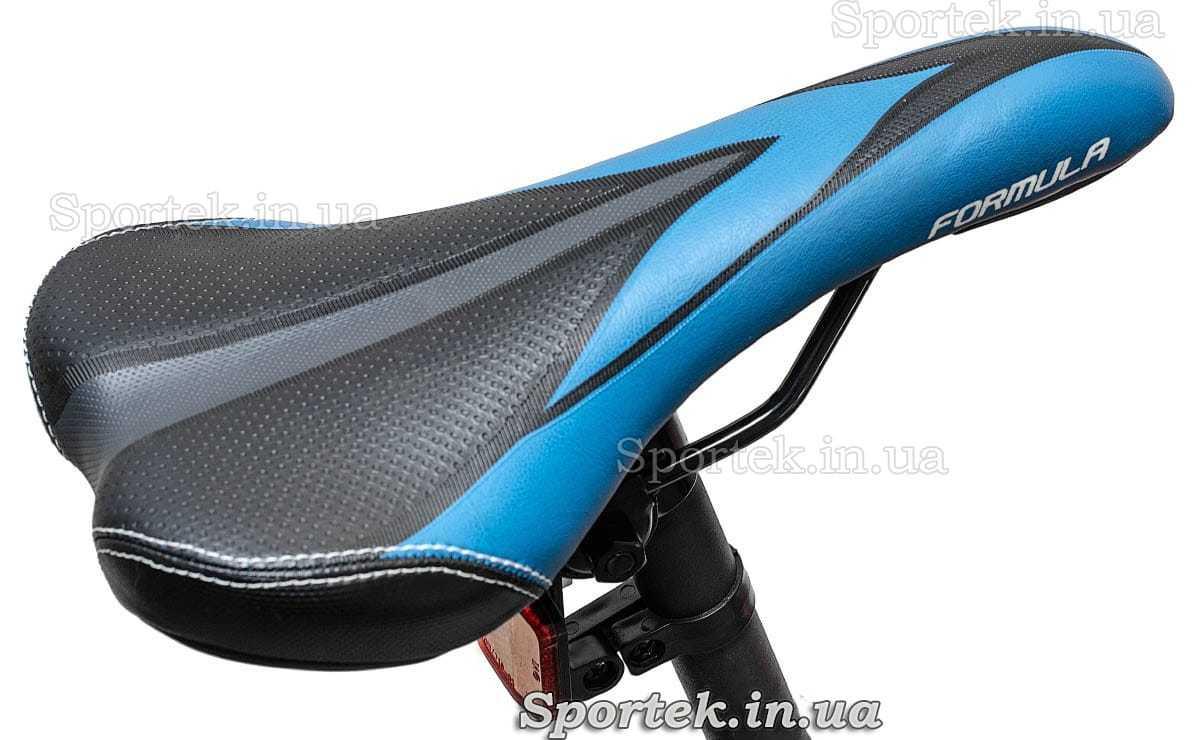 Сидение горного универсального велосипеда Formula Blaze DD 2016 черно-синее