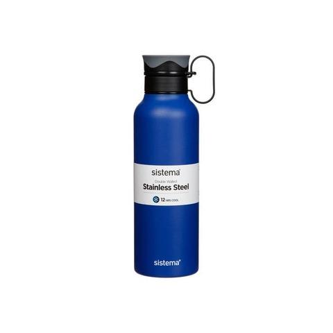 Стальная бутылка Hydrate с петелькой 600 мл