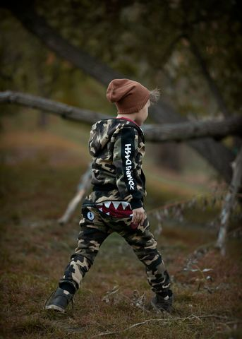 штаны HUNGRE ONE KID CAMO CARMEL