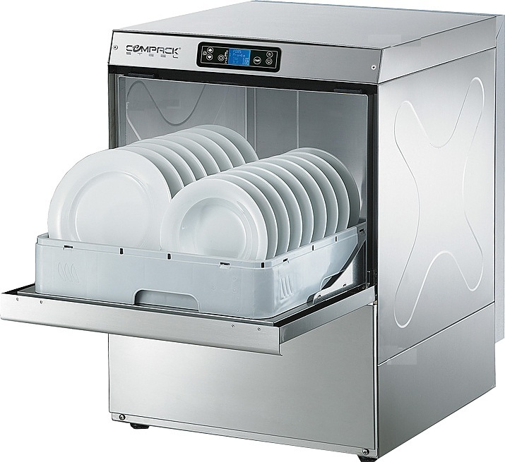 фото 1 Посудомоечная машина с фронтальной загрузкой Compack PL54E  (со встроенным водоумягчителем) на profcook.ru