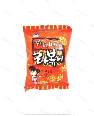 Хворост с острым вкусом Joeun Food, Корея, 50 гр.