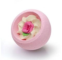 Десерт-шарик для ванн комбинированный РОЗОВЫЙ САД, серия