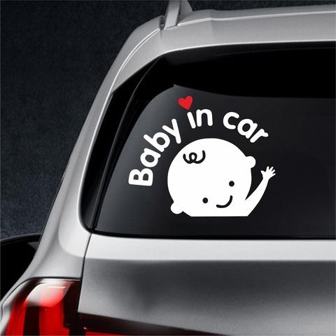 Автонаклейка Baby in car