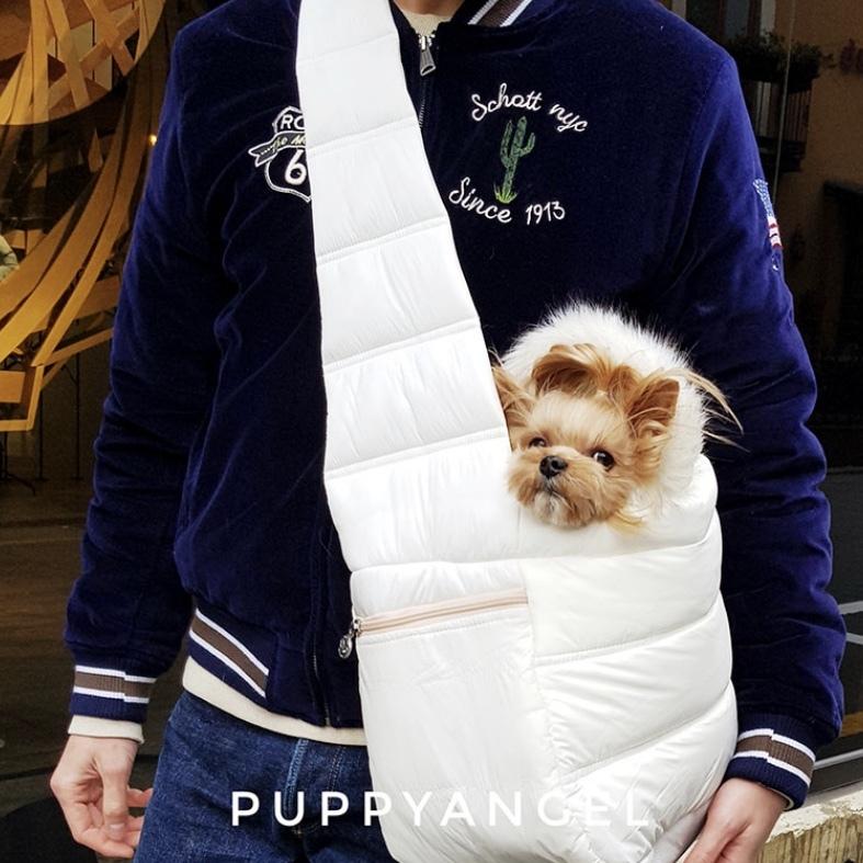 Зимний слинг для собак