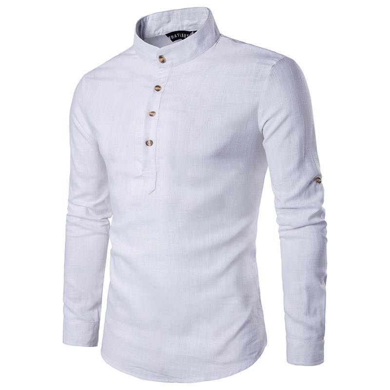 Мужская рубашка льняная 3850424353_769668474.jpg