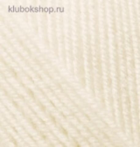 Пряжа Alize Superlana KLASIK 310 медовый фото