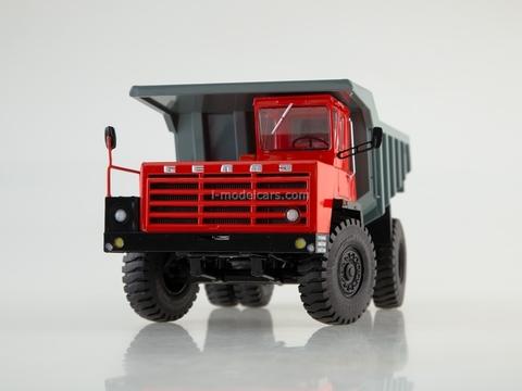 BELAZ-540A Dumper red-gray 1:43 Dealer models BELAZ