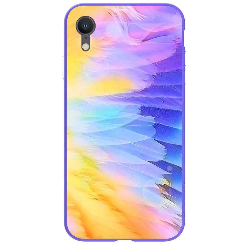 Чехлы Чехол Nillkin Ombre для Apple iPhone Xr 紫色_02.jpg