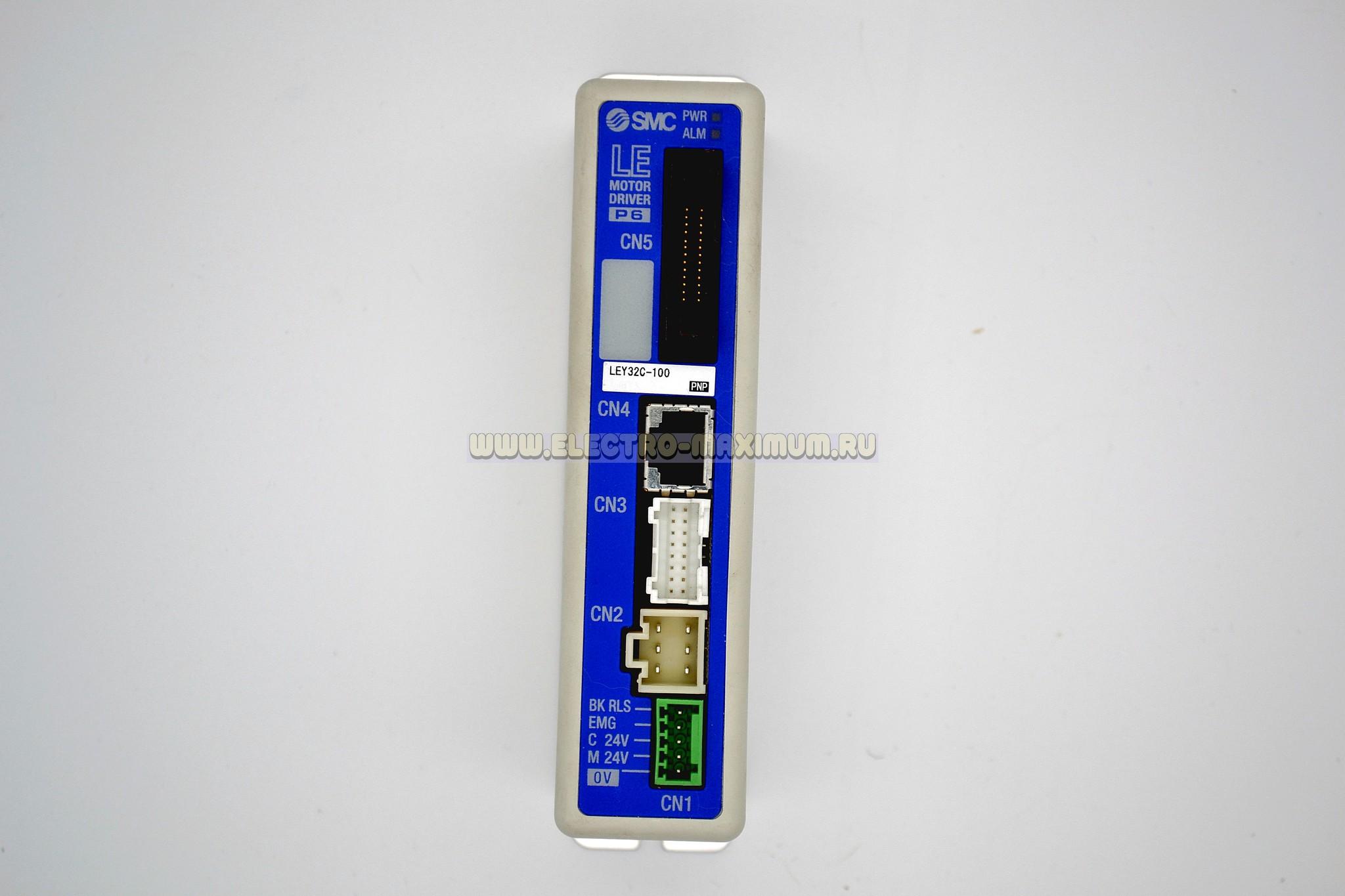 Контроллер шагового двигателя SMC LECP6P1D-LEY32C-100
