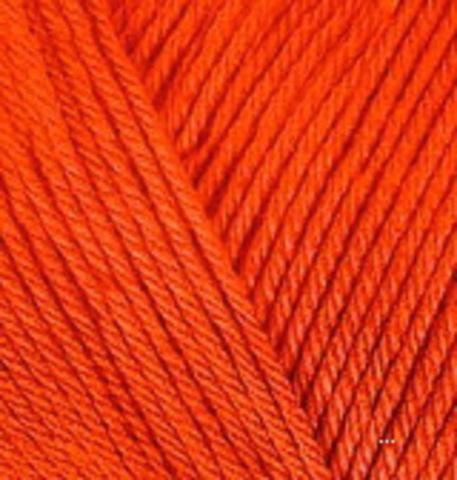 Пряжа Diva 37 Оранжевый Alize фото