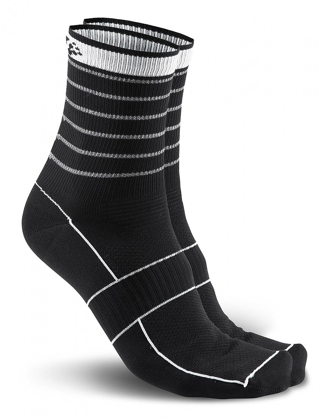 Носки для бега Craft Active Glow (1904086-9926) черные фото