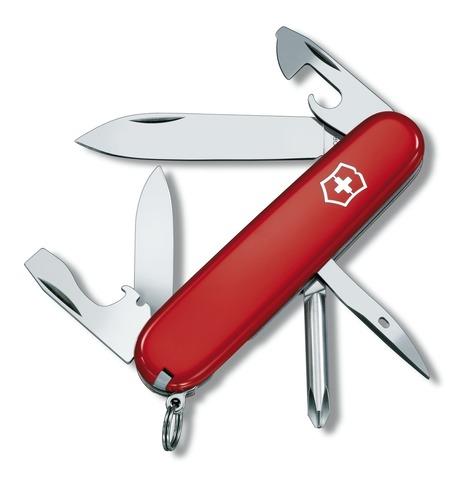 Складной нож Victorinox Tinker (1.4603) 91 мм, 12 функций, цвет красный