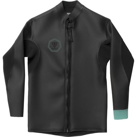 Гидромайка мужская VISSLA 2mm North Seas Smoothy Front Zip Jacket