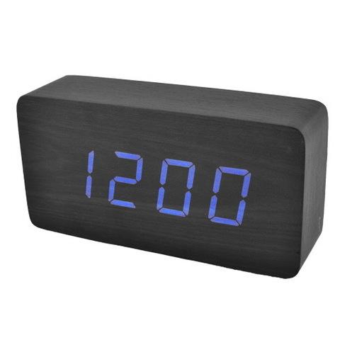 Часы сетевые 867-5 синие, USB