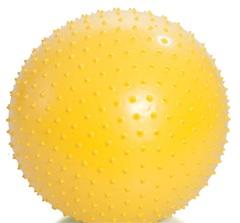 Гимнастический мяч игольчатый, с насосом
