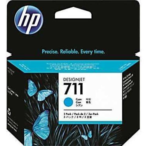 CZ130A - Картридж №711 голубой HP DesignJet T120/T520 (29мл)