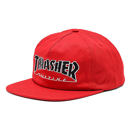 Кепка THRASHER Outlined Snapback (Red)