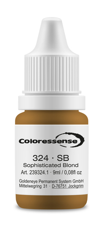 SB (пепельный блонд) • Coloressense • пигмент-концентрат для бровей