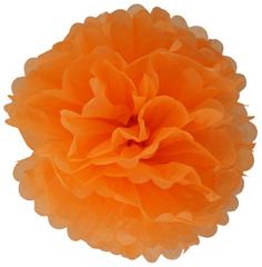 Помпон оранжевый, 16