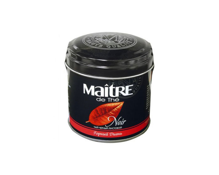 Чай черный листовой Maitre Горный Диань, 100 г (Мэтр)