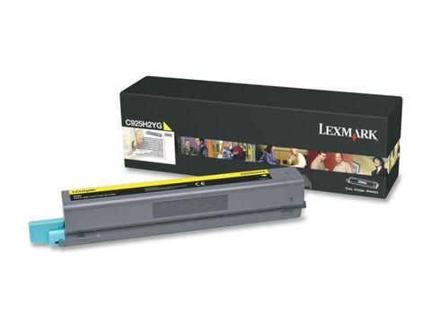 Картридж для принтеров Lexmark X925de желтый (yellow). Ресурс 7500 стр (X925H2YG)
