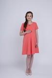 Платье 06149 коралл