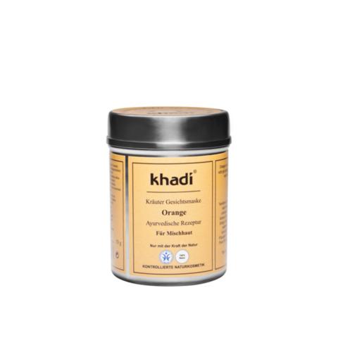 Апельсин убтан для лица Khadi Naturprodukte, 50 гр