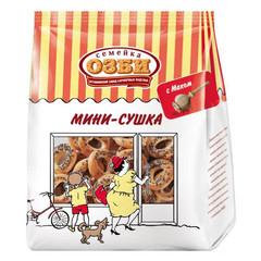 Сушки Мини-сушки с маком  Семейка ОЗБИ  150 г.