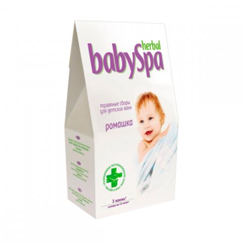 Herbal Baby Spa. Травяной сбор Ромашка 45 г