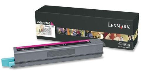 Картридж для принтеров Lexmark X925de пурпурный (magenta). Ресурс 7500 стр (X925H2MG)