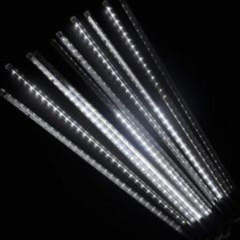 Гирлянда сосулька 30 см светодиодная с последовательным соединением