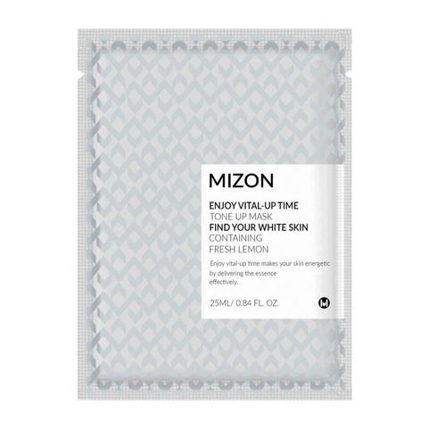 MIZON Осветляющая тканевая маска для лица Enjoy Vital Up Time Tone Up Mask