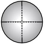 ПРИЦЕЛ LEAPERS TRUE HUNTER CLASSIC TF2+ 3-9X32, 25.4 ММ, НИТЬ MILDOT, Б/ПОДСВ, КОЛЬЦА 11ММ, 505ГР