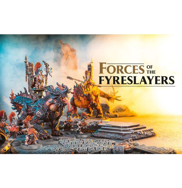 Battletome: Fyreslayers (hardback)