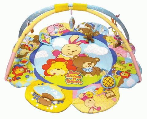 Игровой коврик Веселая семья Brasco