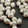 5821 Хрустальный жемчуг Сваровски Crystal Light Creamrose  грушевидный 11х8 мм