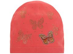 10106-7 шапка для девочек, розовая
