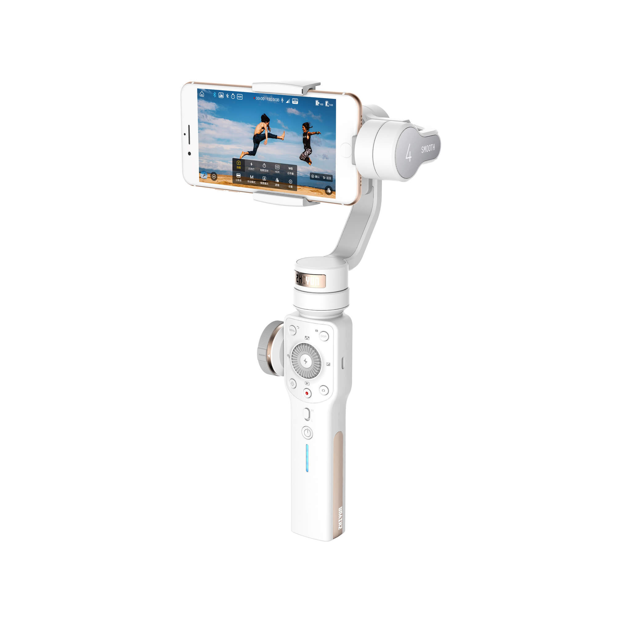 Zhiyun стабилизаторы Zhiyun Smooth 4 (белый цвет) ZHIYUN-SMOOTH-4-WHITE.jpeg