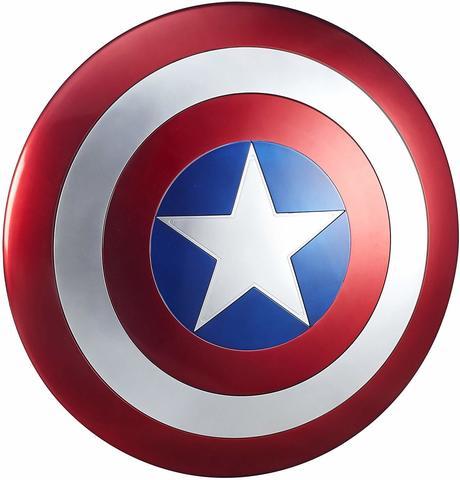 Щит Капитан Америка. Точная копия, масштаб 1:1