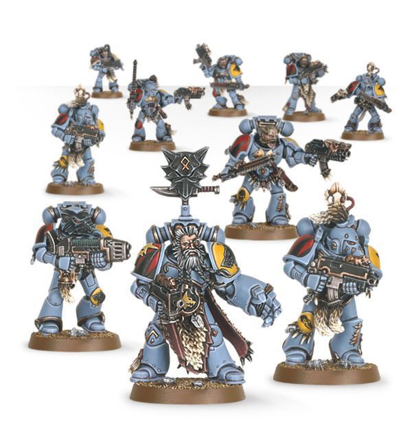 Start Collecting! Space Wolves. Космические Волки