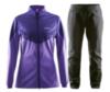Женский утепленный лыжный костюм Craft Voyage XC для бега зимой (1903578-2495-1903582-9999)