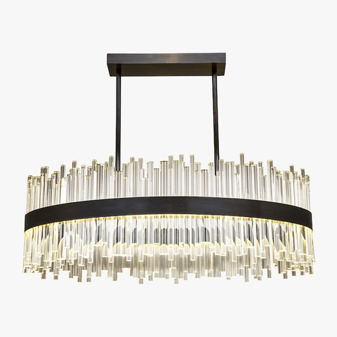 replica light  BOND STREET OVAL CHANDELIER by BELLA FIGURA